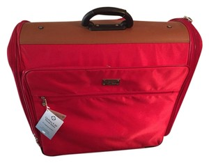 Joy Mangano Red Travel Bag