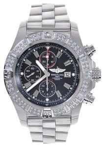 Breitling Breitling A13370 Super Avenger Aeromarine Diamond Watch