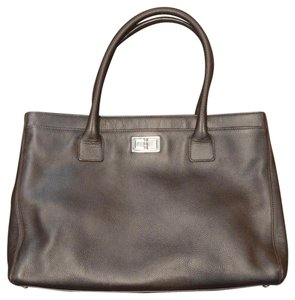 Chanel Tote in Coffee