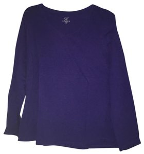 Crown & ivy T Shirt Purple