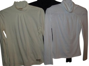 multi lot Draped Shirred Silver Preppy Classic Sweater