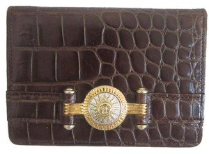 Versace Gianni Versace Sun God ID Card Case Wallet