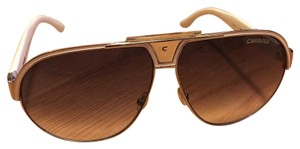 Carrera Polarized Aviator Sunglasses, 64mm
