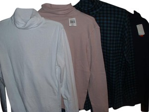 Lot#29 Tee Shirt Cotton Long Sleeve Turtleneck Casual Sweater