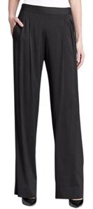 Theory Wide Leg Pants Malaya Black