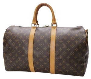 Louis Vuitton Satchel in Brown/ free Same Day ship /