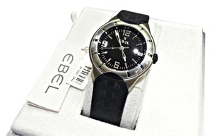 Ebel E-Type Stainless Steel, Rubber Strap, Swiss Quartz Watch