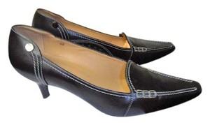 Tod's Leather Designer Loafer Classic black Pumps