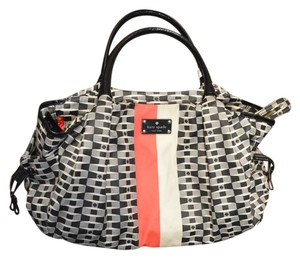 Kate Spade Elliott Consignment Consignment Tote in Black & White