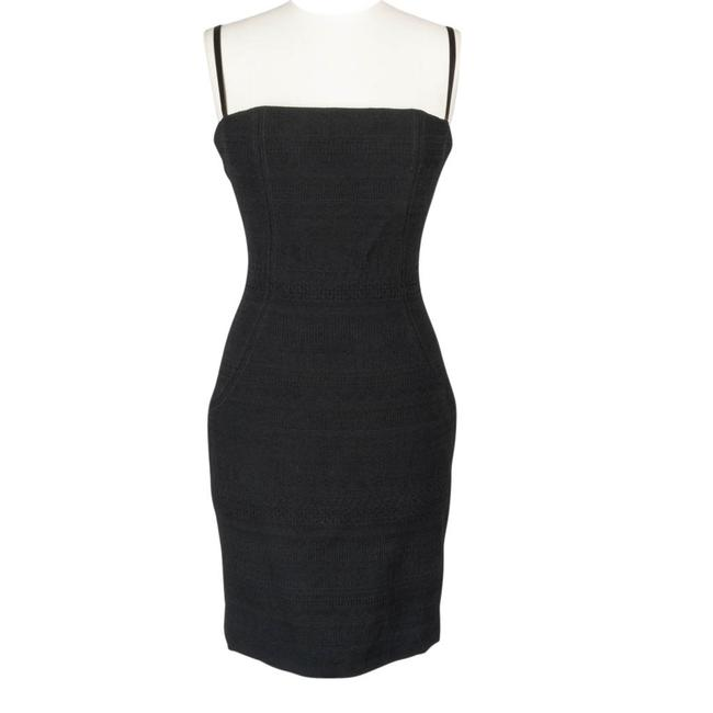 Preload https://img-static.tradesy.com/item/18389287/dolce-and-gabbana-black-signature-style-textured-fabric-44-8-knee-length-cocktail-dress-size-8-m-0-2-650-650.jpg
