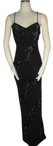 Cache Silk Beaded Formal Gown Size 8 New Dress