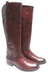Frye Leather Riding Redwood Boots