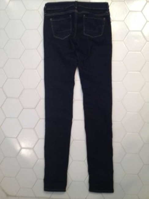 American Eagle Outfitters Size 0 Jeggings Skinny Jeans-Dark Rinse