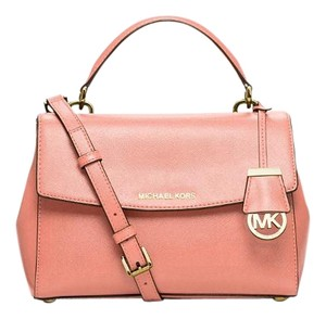 Michael Kors Satchel in Peach