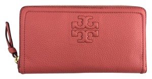 Tory Burch 'Thea' Zip Leather Continental