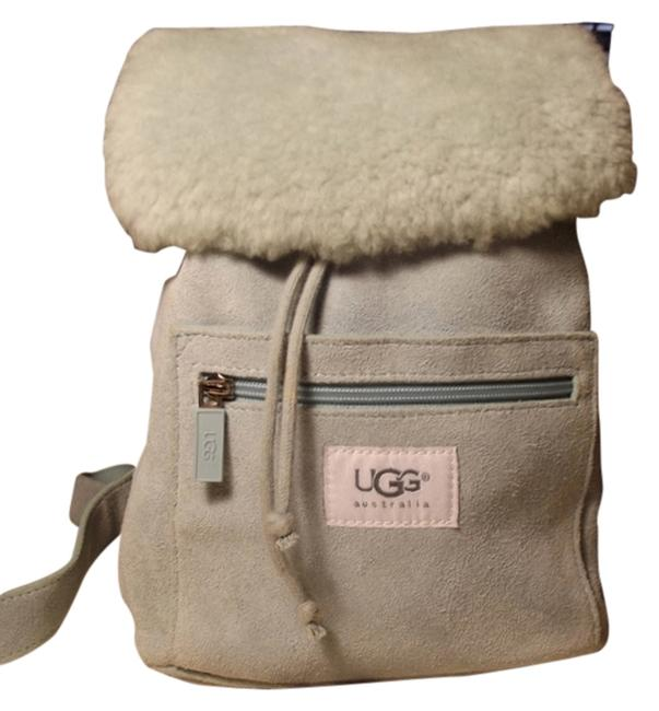 Item - Nordie Baby Blue Genuine Suede and Shearling Backpack