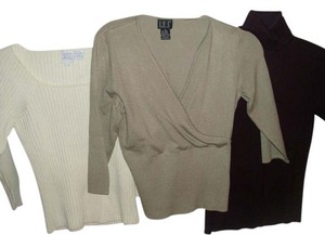 multi lot set Crossover Widewale Turtleneck Sweater