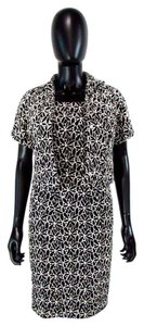 Lafayette 148 New York Floral Beaded Sheath Bolero Dress
