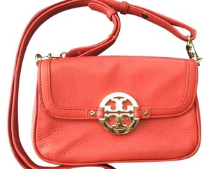 Tory Burch Pebbled Leather Cross Body Bag