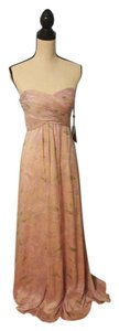 Adrianna Papell Maxi Ethereal Romantic Floral Strapless Dress