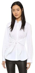 Tibi Top White