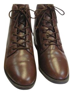 Danex Size 9.00 M Leather Brown Boots