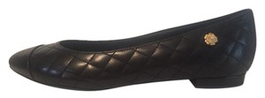 Chanel Quilted Cc Black Flats