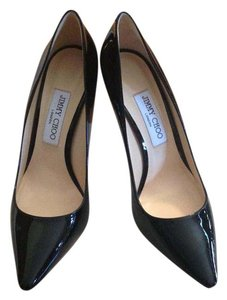 Jimmy Choo Pump Patent Leather Classic Black Pumps