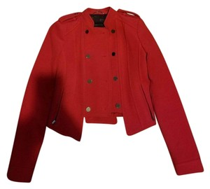 BCBGMAXAZRIA RED Jacket