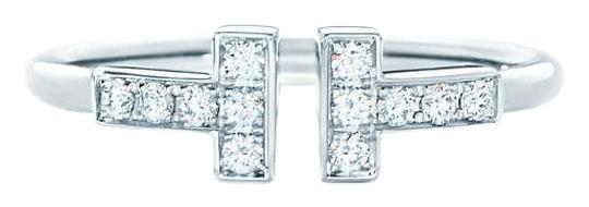 Preload https://item2.tradesy.com/images/tiffany-and-co-white-gold-t-wire-ring-18390946-0-1.jpg?width=440&height=440