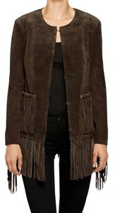 BlankNYC Bohemian Rhapsody - Dark Brown Leather Jacket
