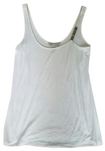 BCBGeneration #white #tanktop #metaldetail #bcbg Top White