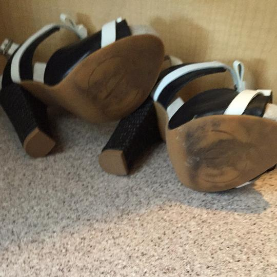 Juicy Couture Black and White Sandals Image 3