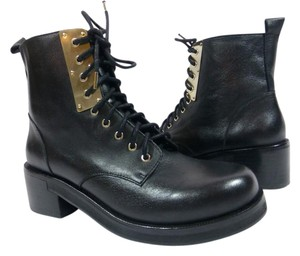 KG Kurt Geiger Military Black Boots