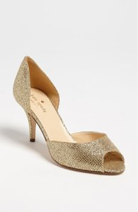 Kate Spade Gold Sage Pumps Size US 7