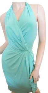 Blumarine Green Seafoam Cocktail Sexy Dress