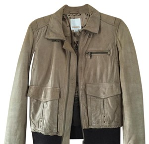 Diesel Tan Leather Jacket