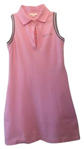 Gucci short dress Pink on Tradesy