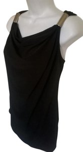 Kenneth Cole Reaction Sleeveless Cowlneck Top Black