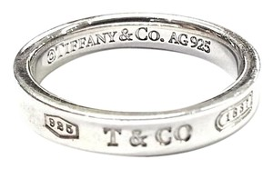 Tiffany & Co. Tiffany & Co 1837 Ring Band Sterling Silver