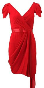 Marchesa Notte Cherry Evening Sexy Sophisticated Dress