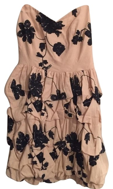 Preload https://item5.tradesy.com/images/ark-and-co-blue-and-cream-floral-mini-cocktail-dress-size-4-s-18394324-0-1.jpg?width=400&height=650
