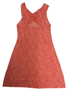 Danki short dress Orange Sporty Yoga on Tradesy