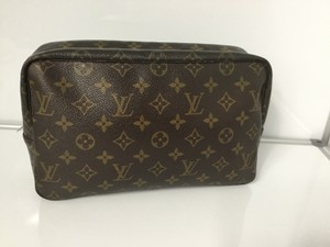 Louis Vuitton Louis Vuitton Vintage Trousse Toilette 28 Cosmetic Pouch Monogram