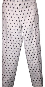 Anne Klein Trouser Pants White