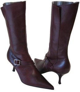 Michel Perry Burgundy Boots