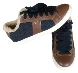 Tory Burch Grey and brown Athletic