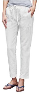 Gap Capri/Cropped Pants Optic White