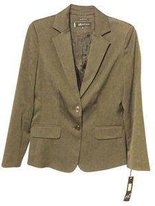 AK Anne Klein New Work Business Coat Grey Blazer