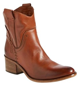 Alberto Fermani Western Brown Boots
